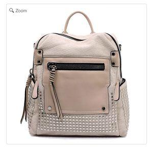 Handbags - NEW Fashion Studded Convertible Backpack